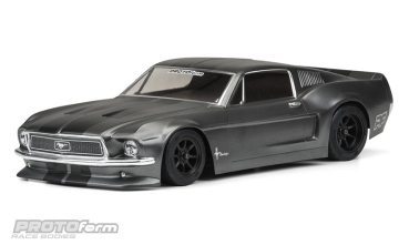 PROTOform - 1968 Ford Mustang Clear Body for VTA Class