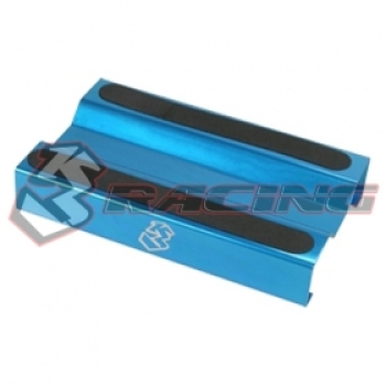 3Racing - Aluminium Setting Stand for 1/10 EP / GP - Light Blue