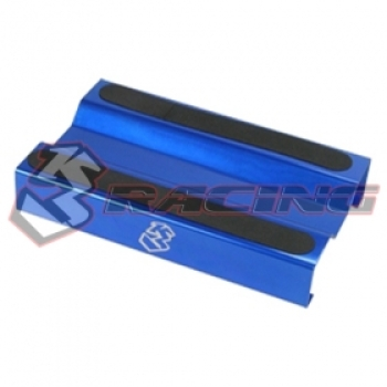 3Racing - Aluminium Setting Stand for 1/10 EP / GP - Blue