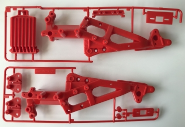Tamiya - Monster Beetle A Parts (Chassis), Blackfoot (Chassis)