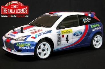 Rally Legends - Ford Focus 2001, ARTR (unlackiert)
