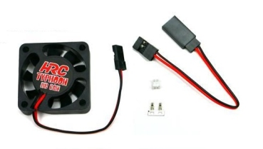 HRC Racing - Lüfter 30x30x10, Typhoon RC Fan, Ultra High Speed, JR Stecker