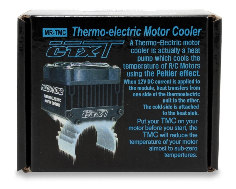 Muchmore - 12V CTX-T Thermoelectric Motor Cooler, black