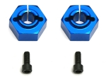 Factory Team - 12mm Aluminum Clamping Wheel Hex, Buggy Rear
